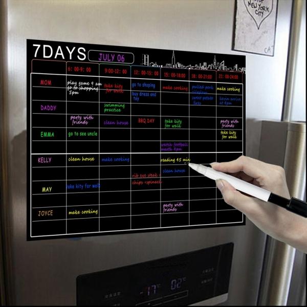 Mua Magnetic Dry Erase Calendar Set 16X12 Inch Whiteboard Weekly Planner Organizer A3 White Board for Refrigerator Fridge Kitchen Home