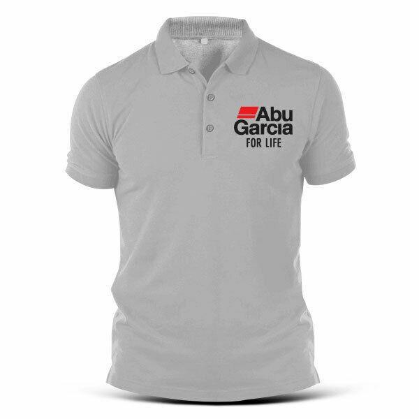 C187-Fishing Abu Garcia Pancing Umpan Reel Lure Jig Line Sport Men'S Polo T Shirt 100% Cotton For Christmas Gift