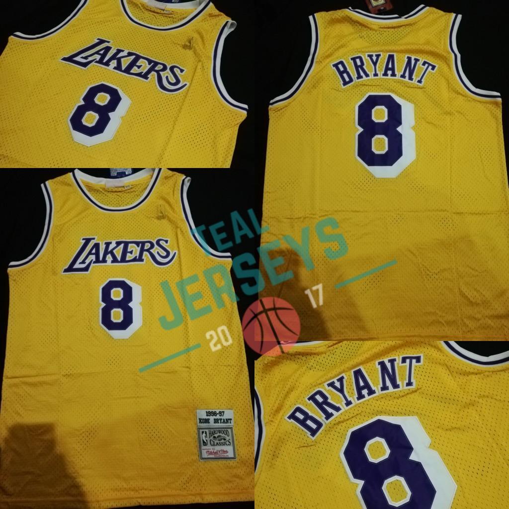 premium selection 274ac 8046d Kobe Bryant Lakers Retro Jersey