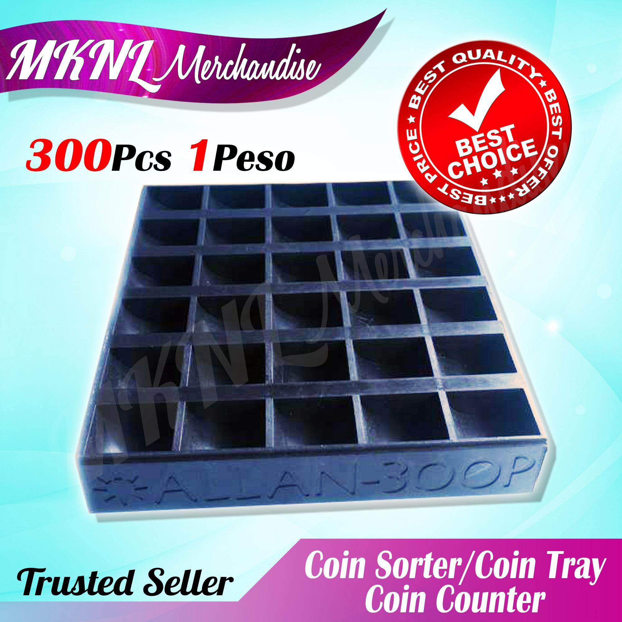 Coin sorter/coin tray/coin counter