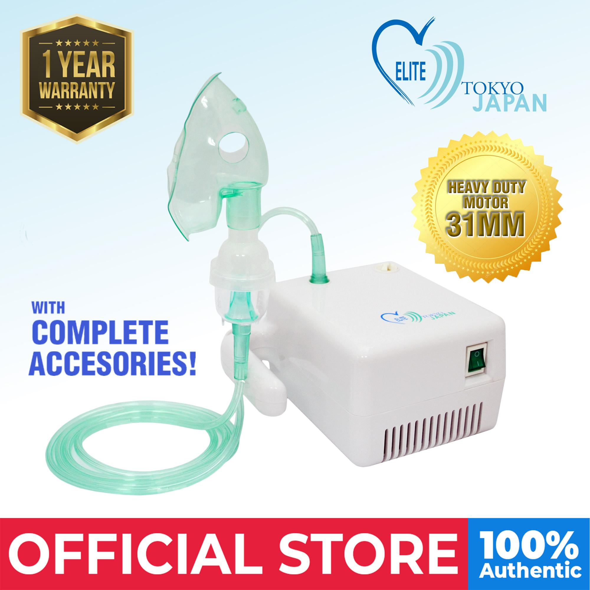 Elite Compact Nebulizer By Medical Supplies Philippines.