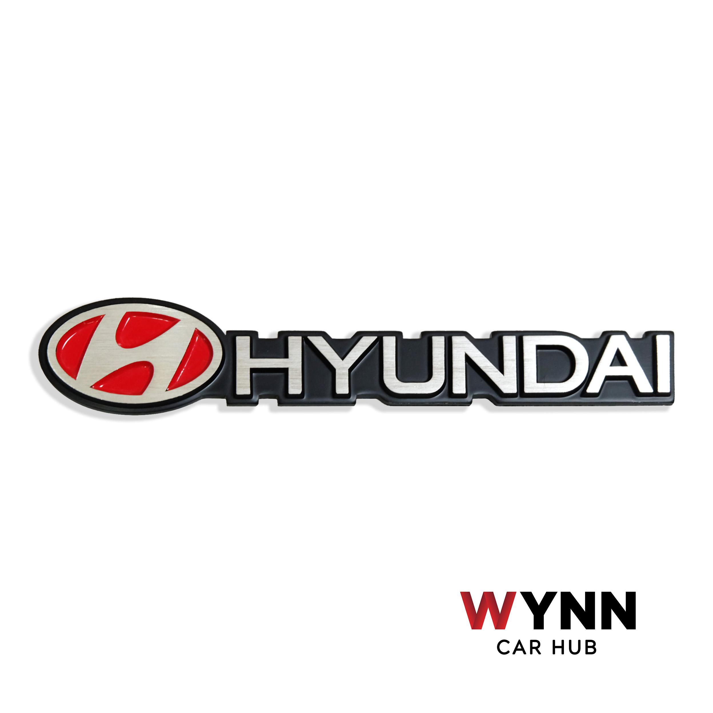 Hyundai Metal Alloy Emblem By Wynn Cars Ph.