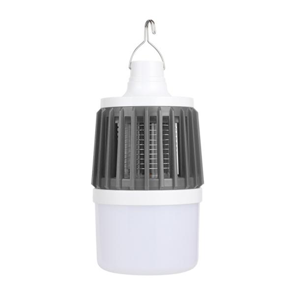 Aiearth-Vợt Muỗi Điện Có Thể Sạc Lại USB Mới Đèn Lồng Cắm Trại Ngoài Trời Đèn Pin Led-Thuốc Diệt Muỗi Chống Nước Di Động 3 Trong 1 Có Móc, Đèn Led Không Tiếng Ồn