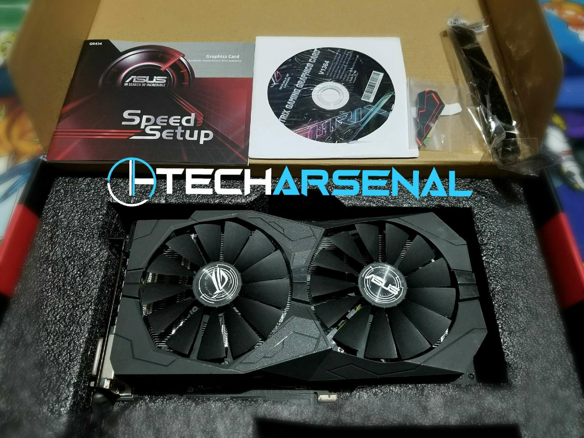 Asus ROG Strix RX 570 4GB USED