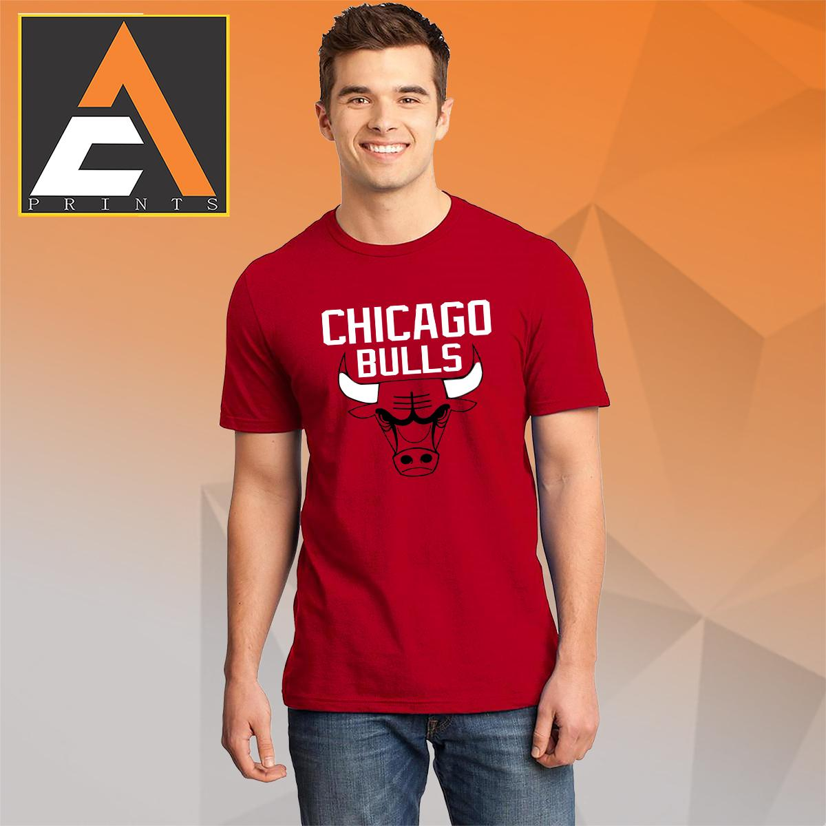 0d1ede7a8557 Basketball tshirt Basketball shirt CHICAGO BULLS Shirt Unisex(Men Women)( Male
