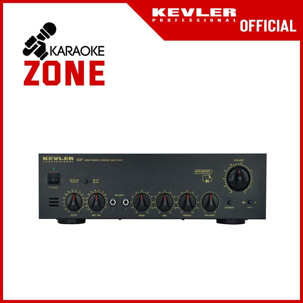 Amplifier Kevler GX7 Professional High Power Videoke Amplifier (800W x 2) -  Black