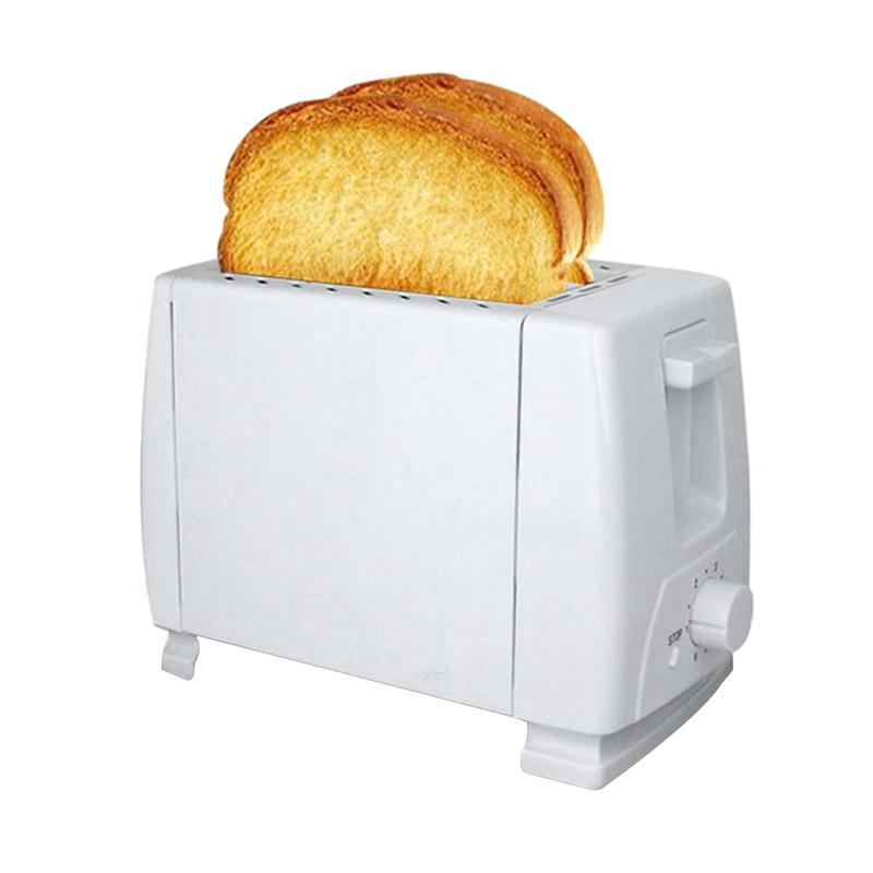 Home Appliances Electric Bun Toaster Household Stainless Steel 2 Slices Toaster Bread Machine(US Plug)