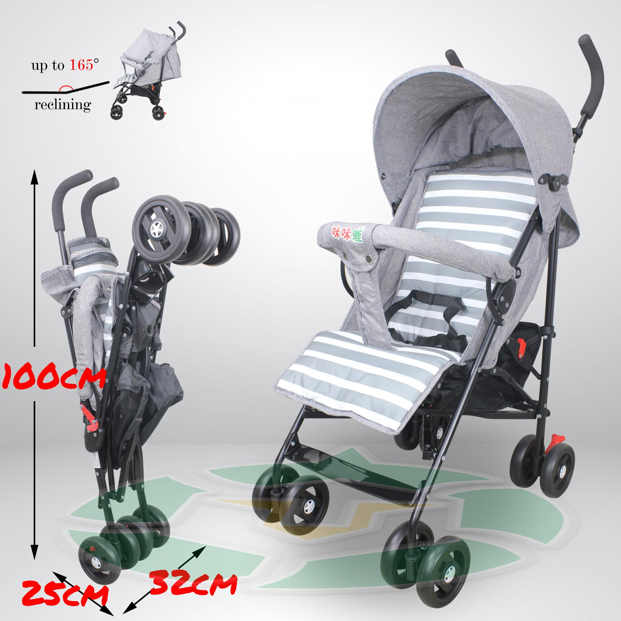 S600 Foldable And Portable Lightweight Umbrella Baby Stroller By Unicorn Selected.