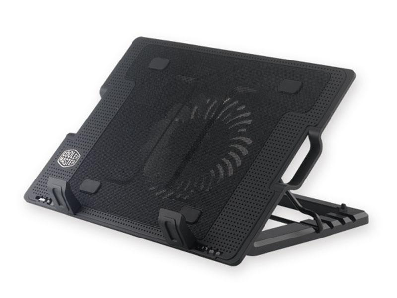 Yl339 Cooler Master Notepal Ergostand - Adjustable Laptop Cooling Stand With 140mm Fan By Moon.