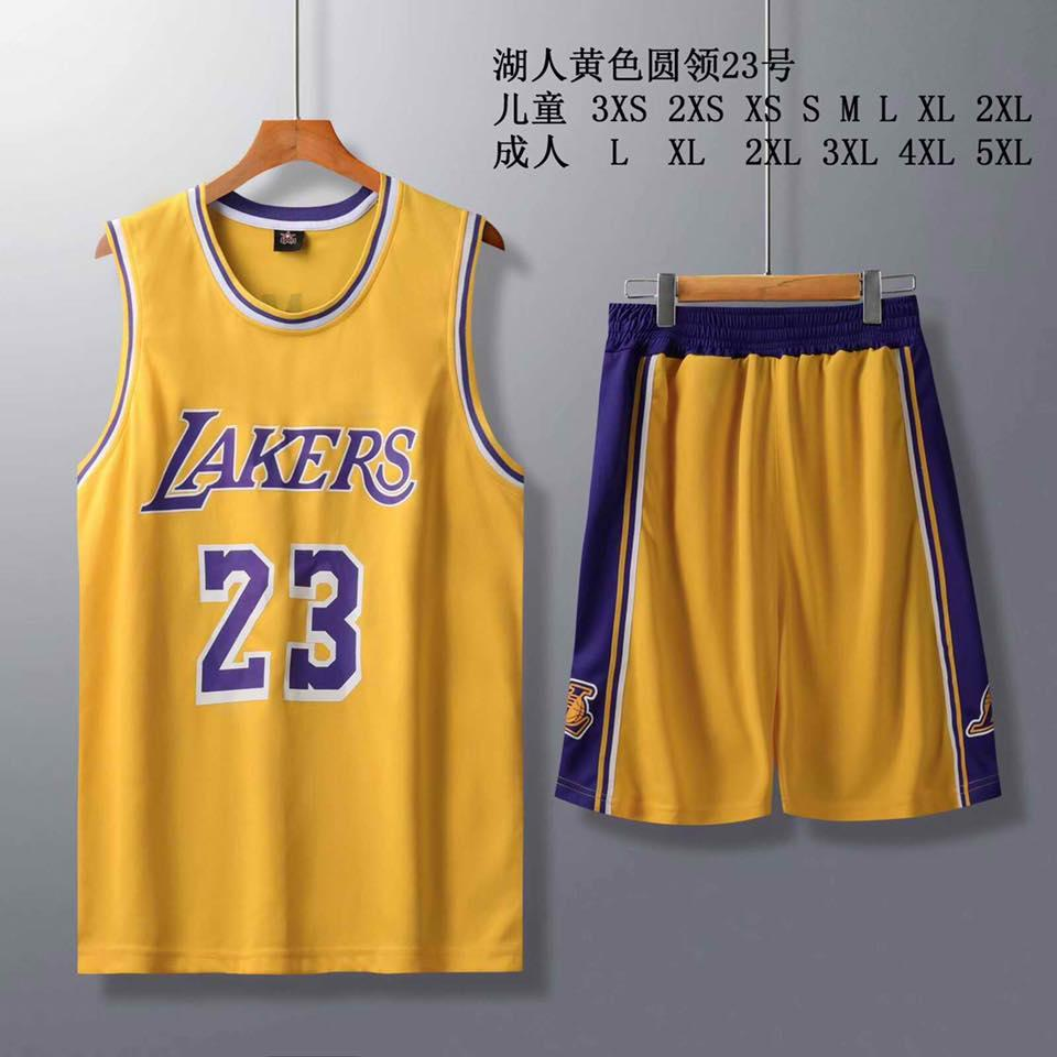on sale be01a 5ea76 8001 NBA BASKETBALL LEBRON JAMES JERSEY AND SHORT SET HIGH QUALITY