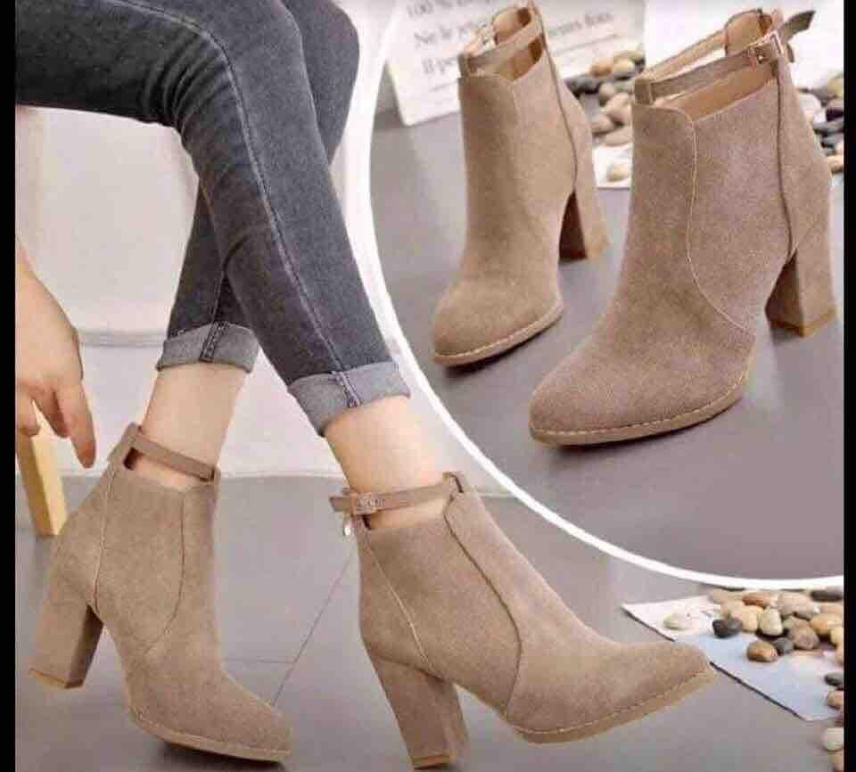 Ankle Suede Boots