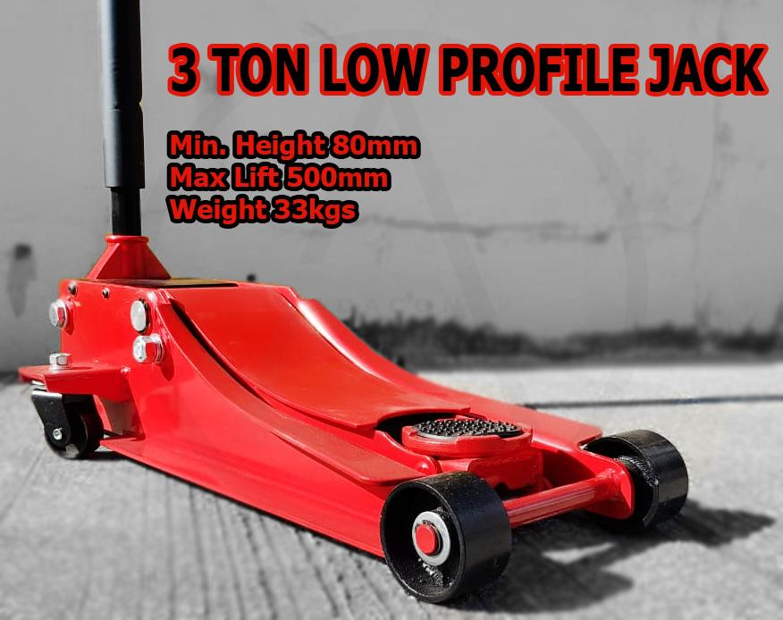 3 Ton Crocodile Jack Low Profile Jack 2 In 1 For Cars And Suvs By Am Tools