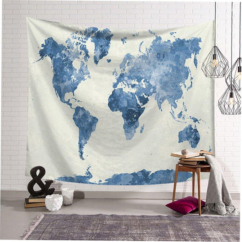 HORI Nordic ins Style Wall Hanging Blanket Tapestry Background Starry Sky Map
