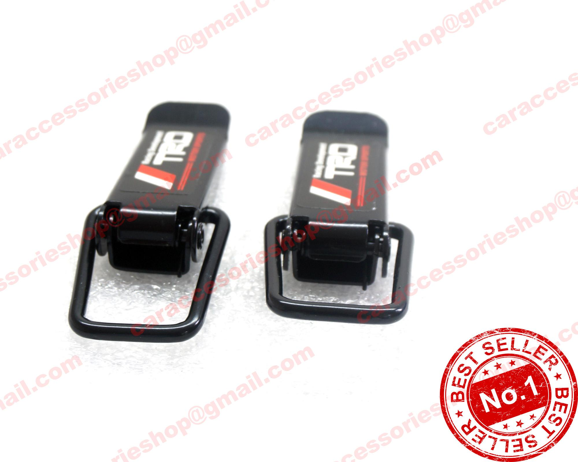Trd Bumper Clip For Toyota Cars Universal Black By Car Accessories Shop.