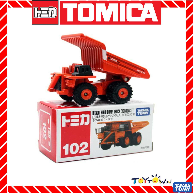 Tomica Takara Tomy No.102 Hitachi Rigid Dump Truck EH3500AC II