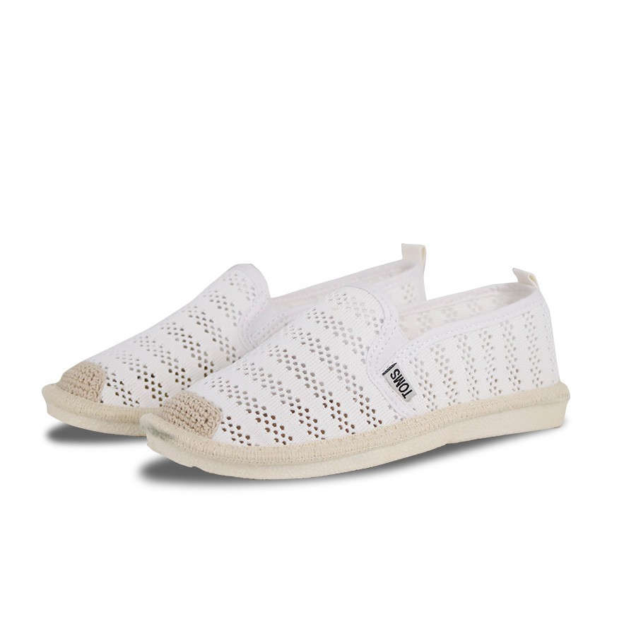 Ms. toms ladies hollow casual canvas