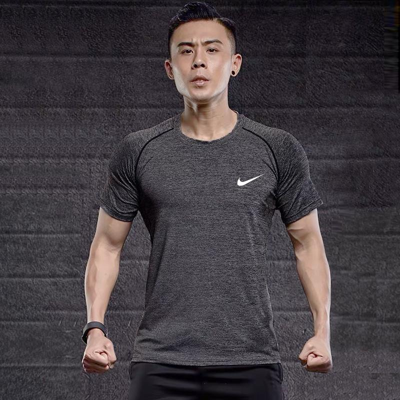 096df89f NK Organic Men Sports Active Long Sleeve Shirt Quick Dry Gym Training Dry  Dri Fit Compression Shirt For Running Jogging Workout Clothes Sports Wear  ...