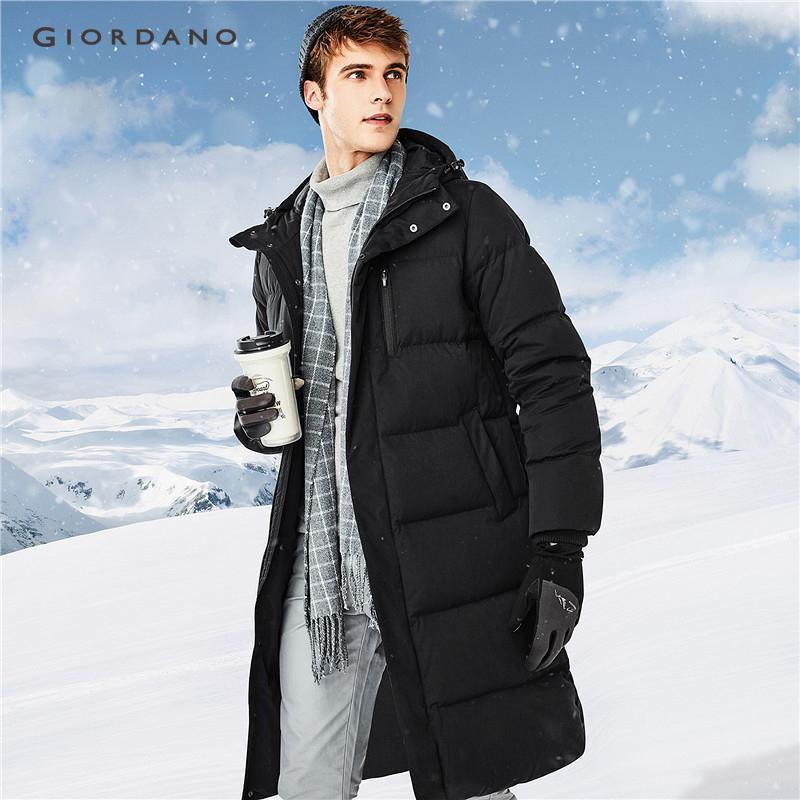 997abb563 Giordano Men 90% grey goose down mid-long down jackets [Free Shipping]  01078653