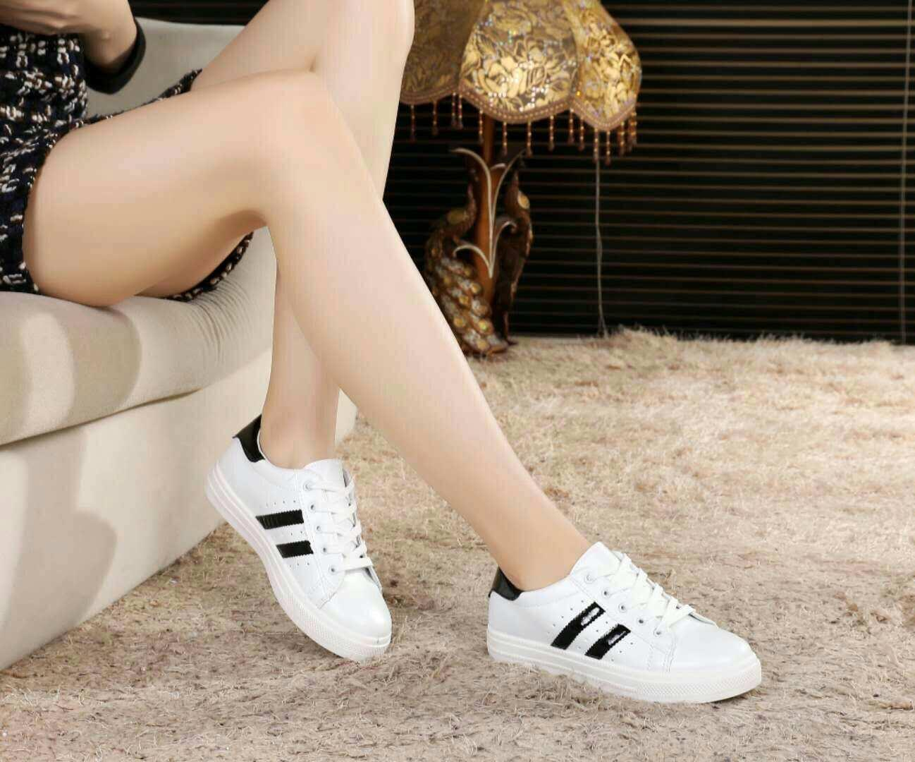Cod Flat Shoes, Fashion Shell Shoes, Low-Top Sneakers And Nylon Tape By 5stars.ph.