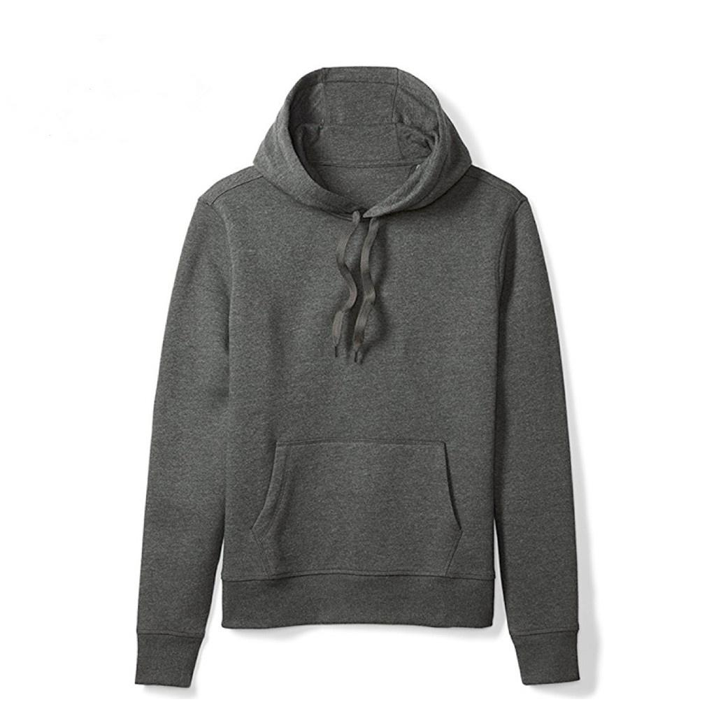 2c585fa39124 Oneshopping 5 Colors Unisex Plain Hoodie Jacket Sweater For Men Women