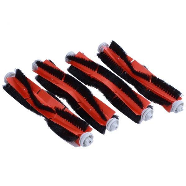 4 Pcs/ Set Roller brush Suitable for Xiaomi Robot Vacuum Cleaner/ roborock Vacuum Cleaner-Roller brush