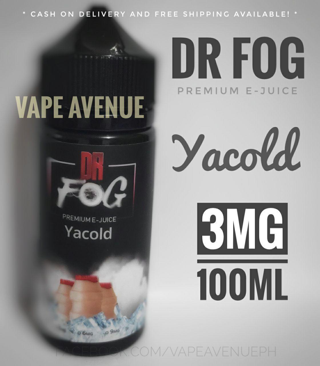 39a59d58839f DR FOG eLiquid 3MG 100ML [ Frozen Lychee / Strawberry Cheesecake / Creamy  Milk / Vanilla Soda / Cappuccino Delight / Yacold / Frozen Bazoocka / Sour  ...