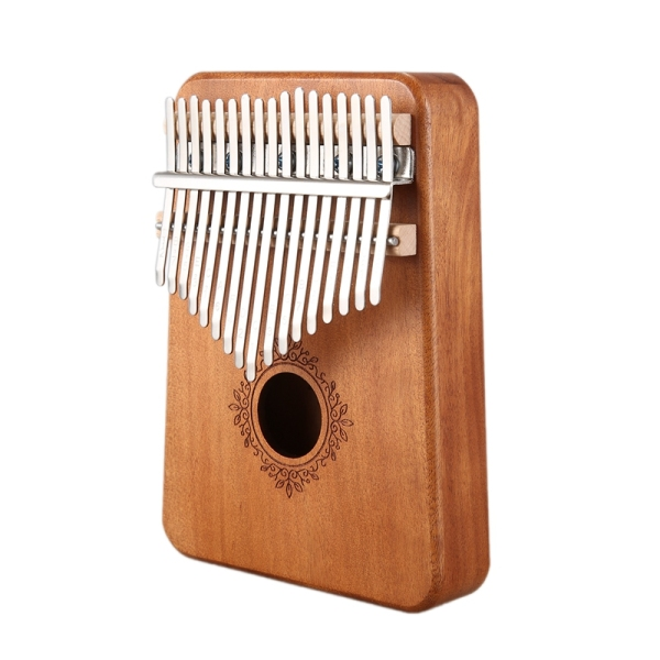 17 Keys Kalimba African Thumb Finger Piano Mahogany Musical Instrument For Kids Adult Beginners,Light Wood Color Malaysia