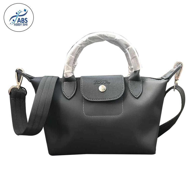ba145a2a55ec09 Abby Shi #360 LC Ladies Casual Small Composite Bags Leather Handbag Nylon  Handbag (small