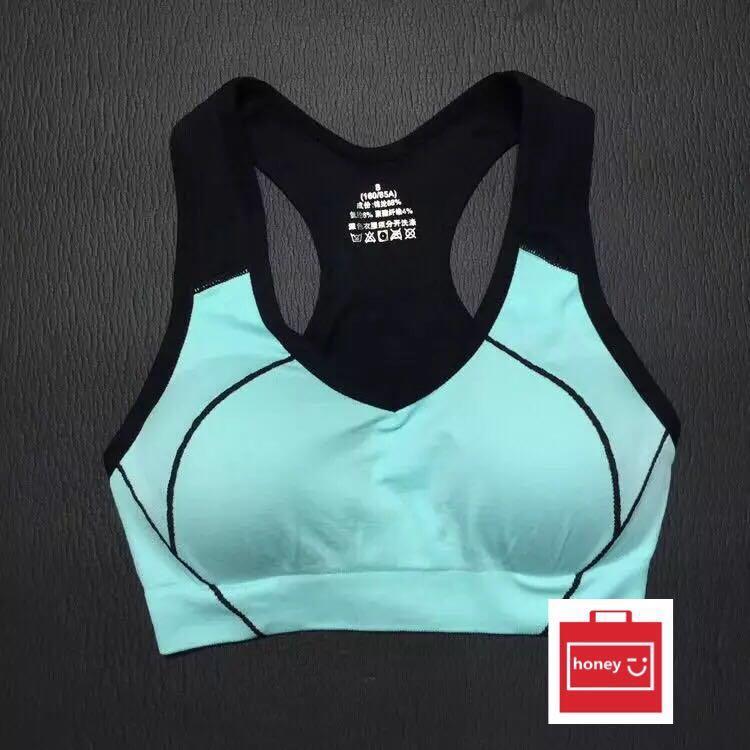 ee308701f37eb4 Sport Bra Yoga Bra Korean Sport Bra Strectable New Arrival -HONEY.