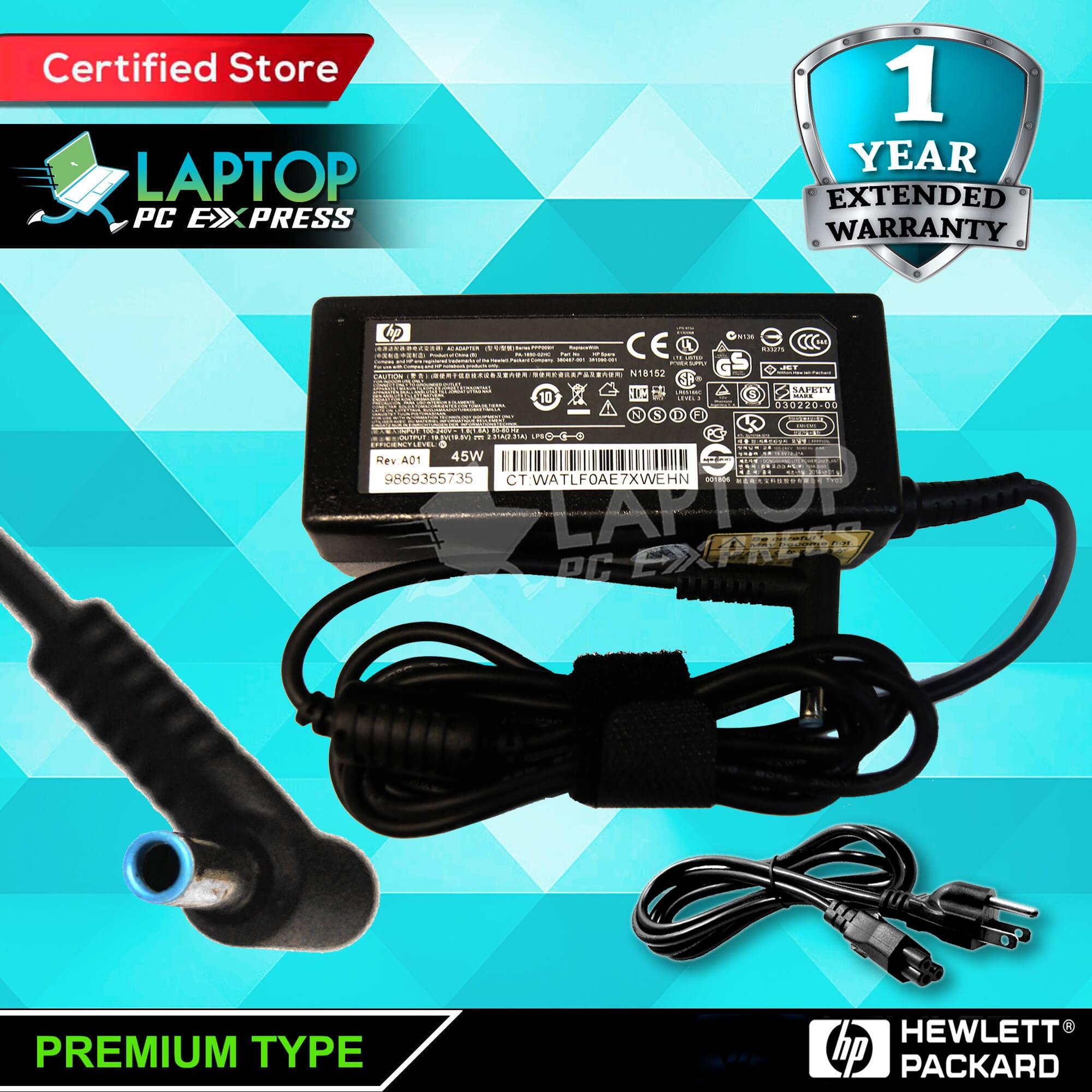 Laptop notebook charger 19 5v 2 31a 45w 4 5mm x 3 0mm for HP 15-ac180, HP  17-p143, 17-p033 15-ac174 , 15-ac197