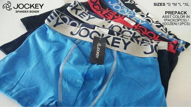 12 Pcs Cotton Underwear Jockey Boxer Brief For Men By Rhegz Shop.
