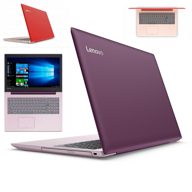 Lenovo ideapad 330 8thgen i3-8130u ram 4gb hdd 1tb usb Type-c win 10 laptop  red purple