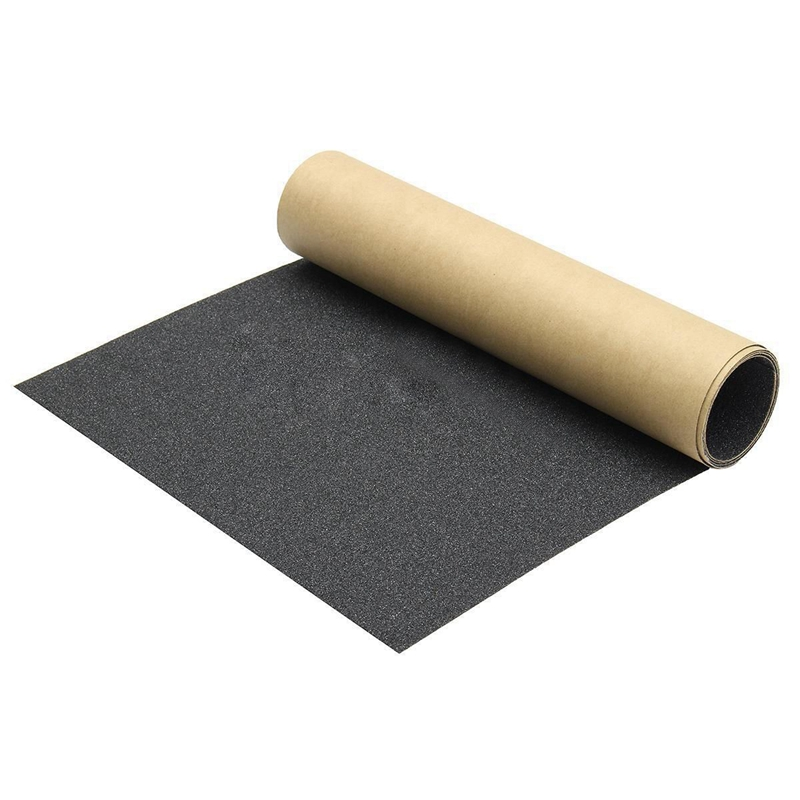 110x 27cm Waterproof Skateboard Skating Longboard Sandpaper Grip Tape