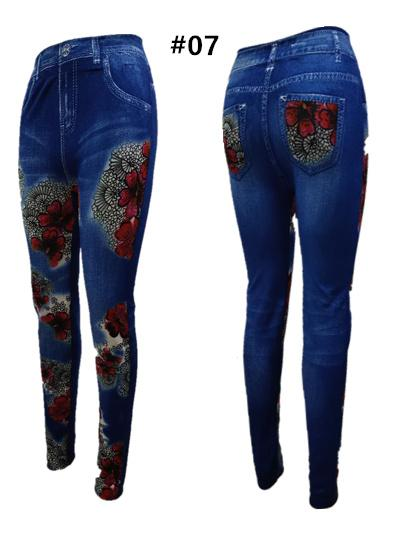 60662e6b1de4a #LEGGINGS Fashion Good Quality for Women New Cotton leggings (FREE SIZE  Fitted 25 to 30 AND BIG SIZE)