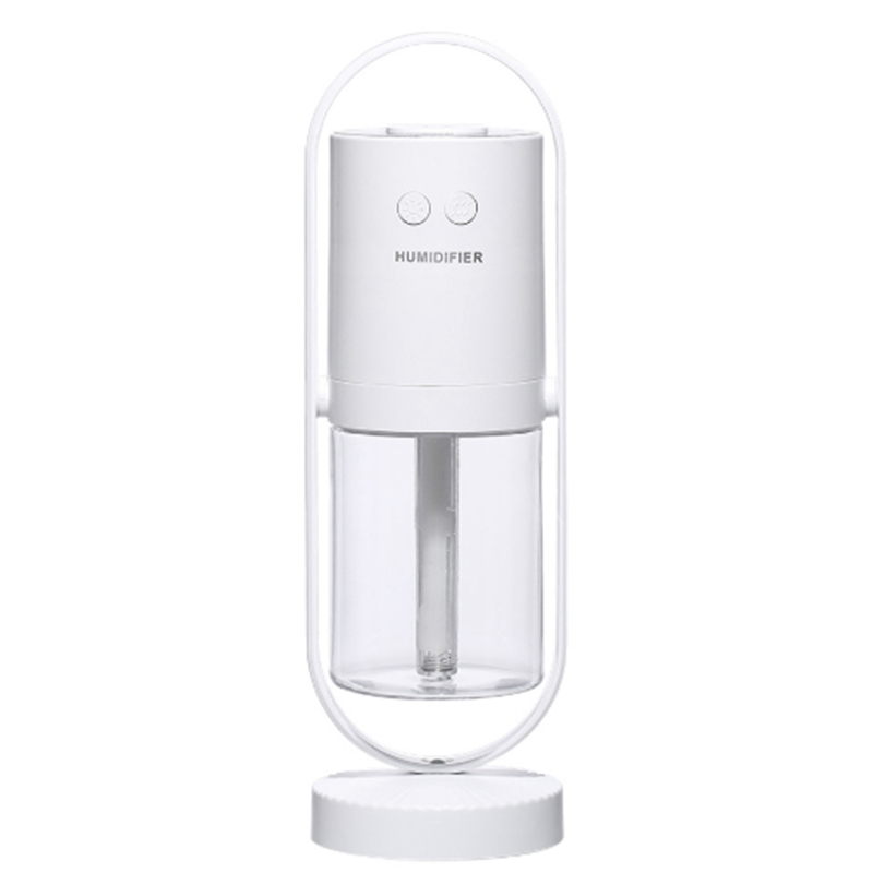 200Ml Humidifier LED Night Light Mist Maker Portable Aroma Diffuser Negative Ion Purification for Home Office Car Air Humidifiers USB