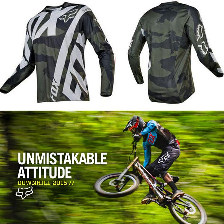 97235bedf0b aza.18 Spandex Fox Longsleeve Men s Sportswear Quick DryFortress Cycling  Mountain Bike Motocross Motorcycle