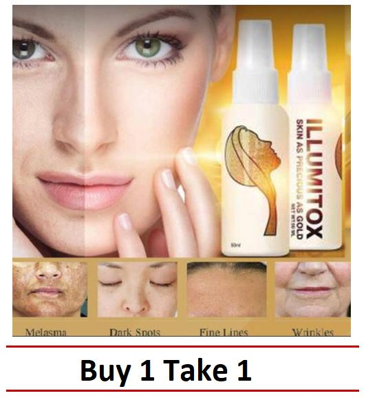 Illumitox Gold Whitening, Buy 1 Take 1 Philippines