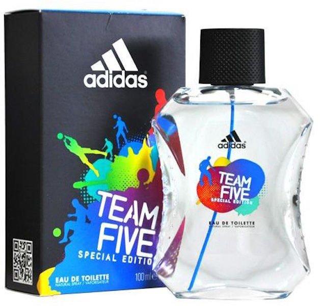 Adidas Team Five Eau De Toilette for Men 100ml - thumbnail
