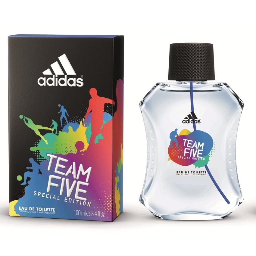 Adidas Team Five Special Edition Eau De Toilette Perfume for Men 100ml product preview, discount at cheapest price