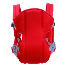 Adjustable Straps Baby Carriers (red) By Better Buy.