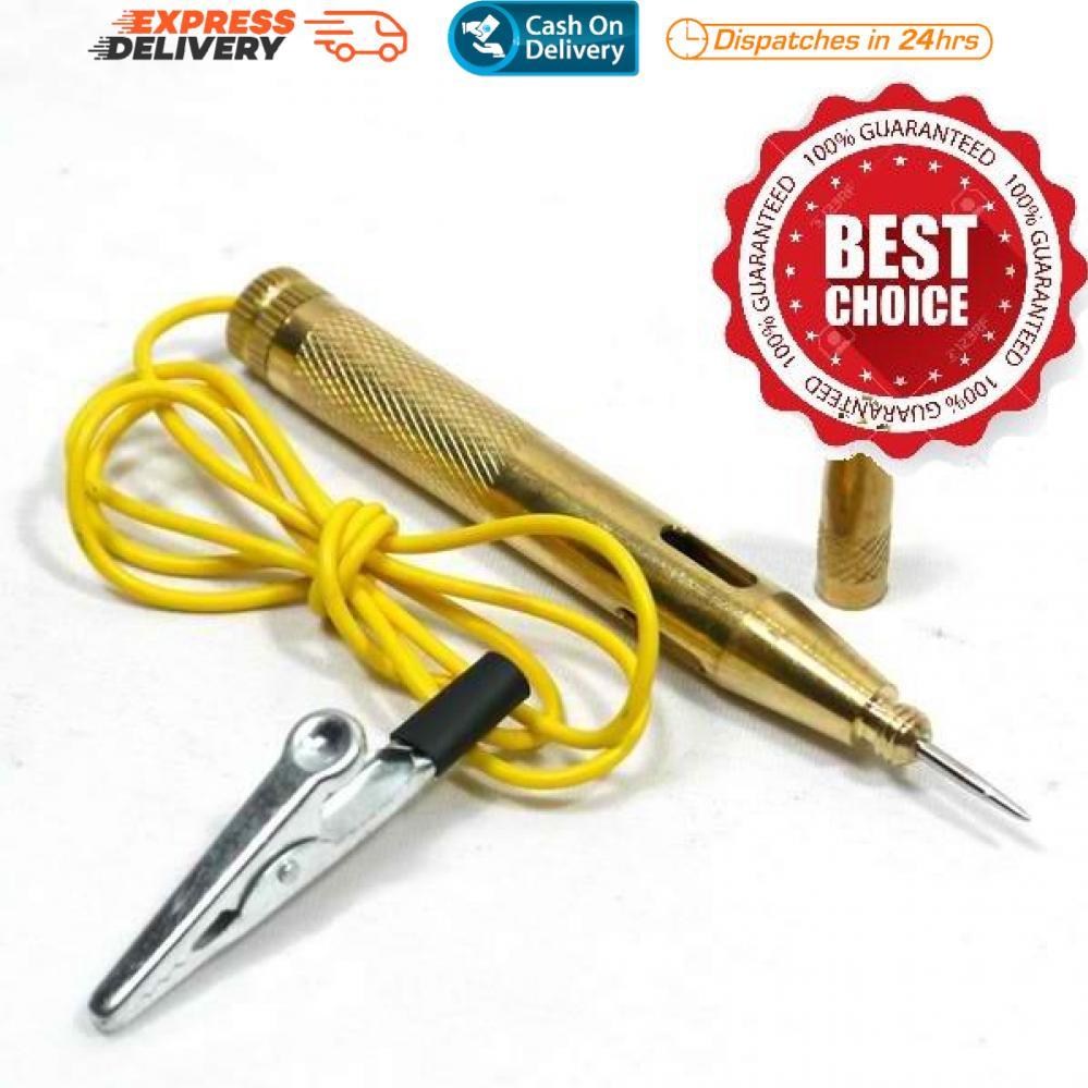 SR-1246 Professional Copper Car Voltage Lamp Tester Probe 6-24V DC #0489