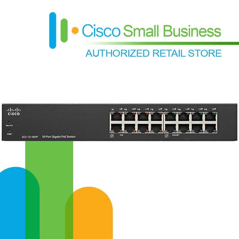 Cisco SG110D-16HP-EU 16 port POE Gigabit switch