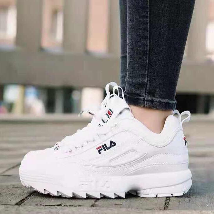 c677982d9ad Disruptor II 2 white shoes foe women and men and kids