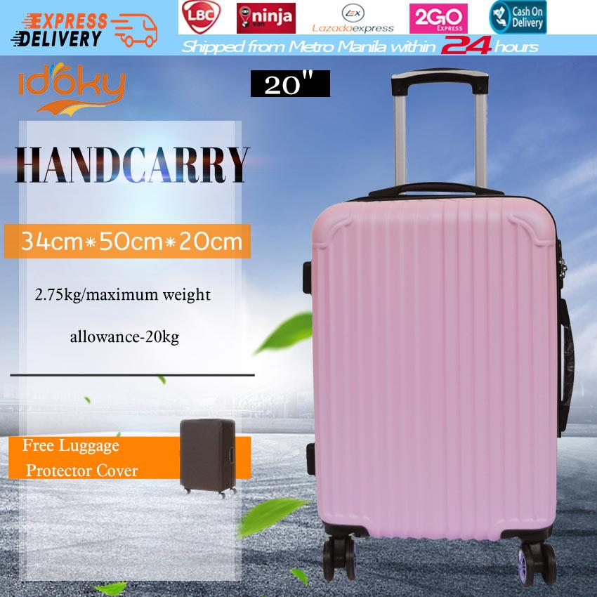 bcdb9187e Idoky PH502 Popular 20 Inch Suitcase With【Explosion Proof Zipper】Hard Case  Handcarry Luggage