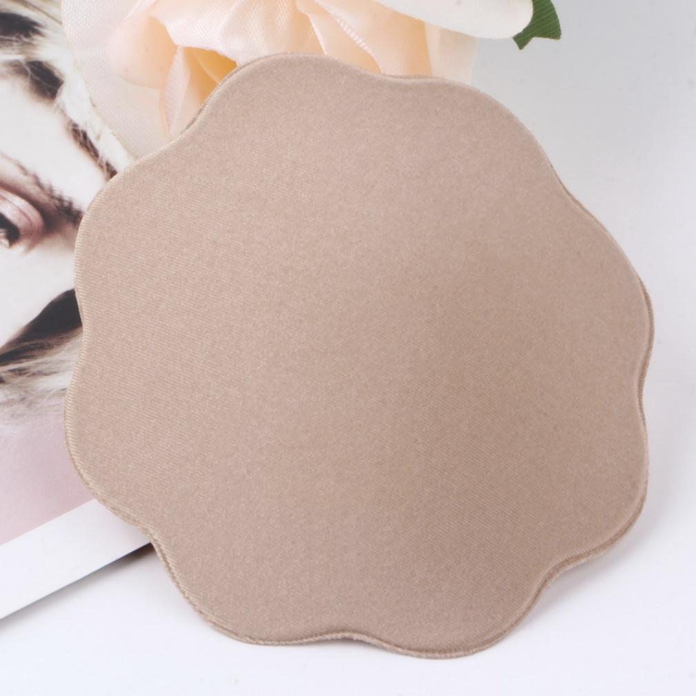 Reusable Invisible Skin Adhesive Cloth Cover Silicone Nipple Cover Bra Pad
