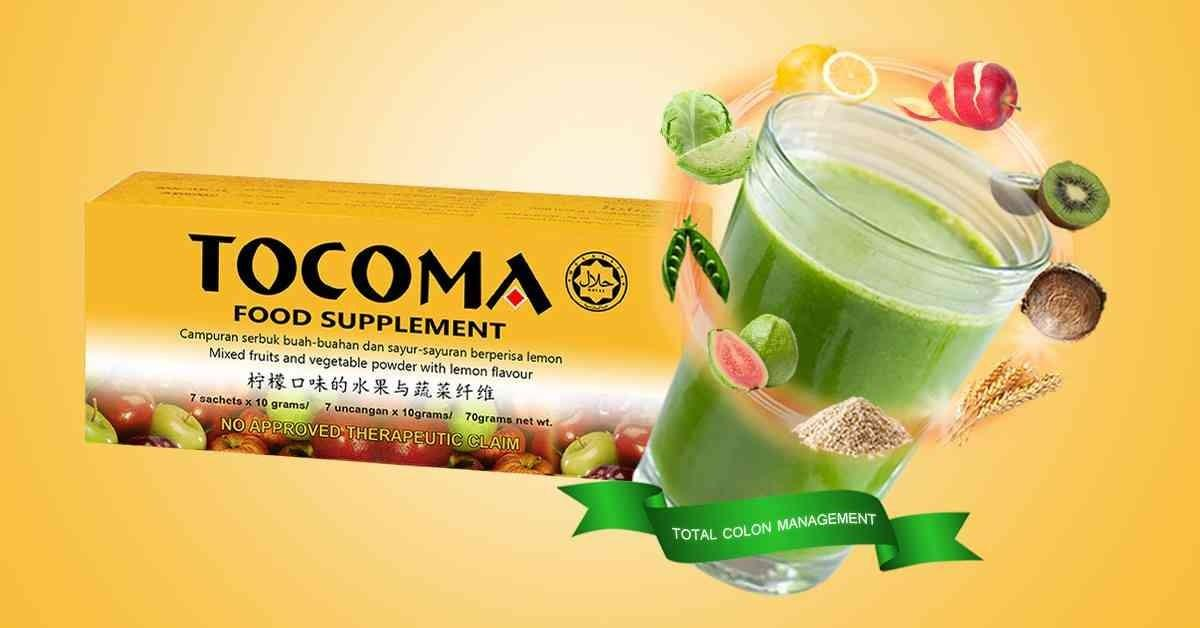 Tocoma Food Supplement Total Colon Cleansing By Essential Health & Wellness Trading.