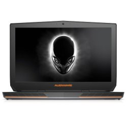 "Alienware 17R3-1675SLV 17.3"" Intel Core I7-6700HQ 8 GB DDR3, 1 TB HDD, NVIDIA GTX970M Silver Windows 10 with Free Laptop Bag"