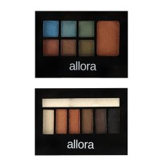Allora Eyeshadow with Highlighter 3g (Cuban Sand) with  Allora Eyeshadow and Bronzer 3g (Bermuda) Bundle Philippines
