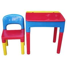 Allswell Kiddie Table And Chair With Drawer 710 (multicolor) By Fair Price.