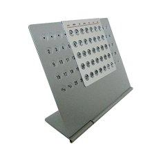 Aluminum Pertual Calendar Large By Progiant.